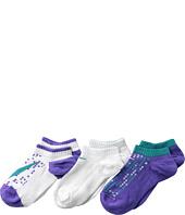 Nike - Graphic Lightweight Cotton w/ Moisture Management No Show 3-Pair Pack (Toddler/Little Kid/Big Kid)