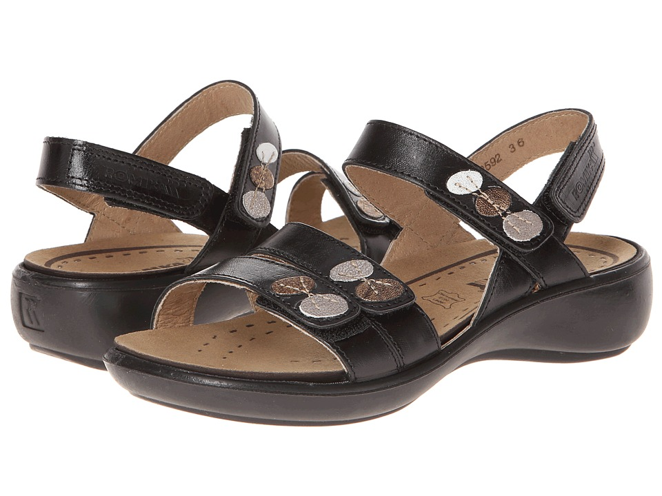 Romika - Ibiza 55 (Black) Womens Sandals