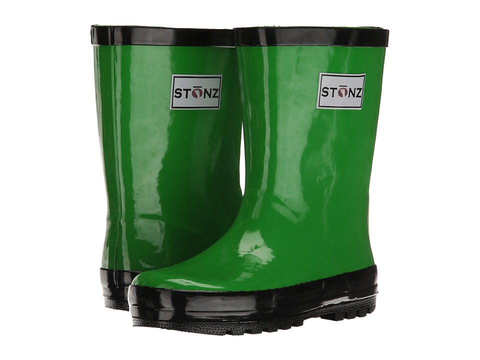 Stonz Rainboots Toddler/Little Kid/Big Kid Green/Black Kids Shoes