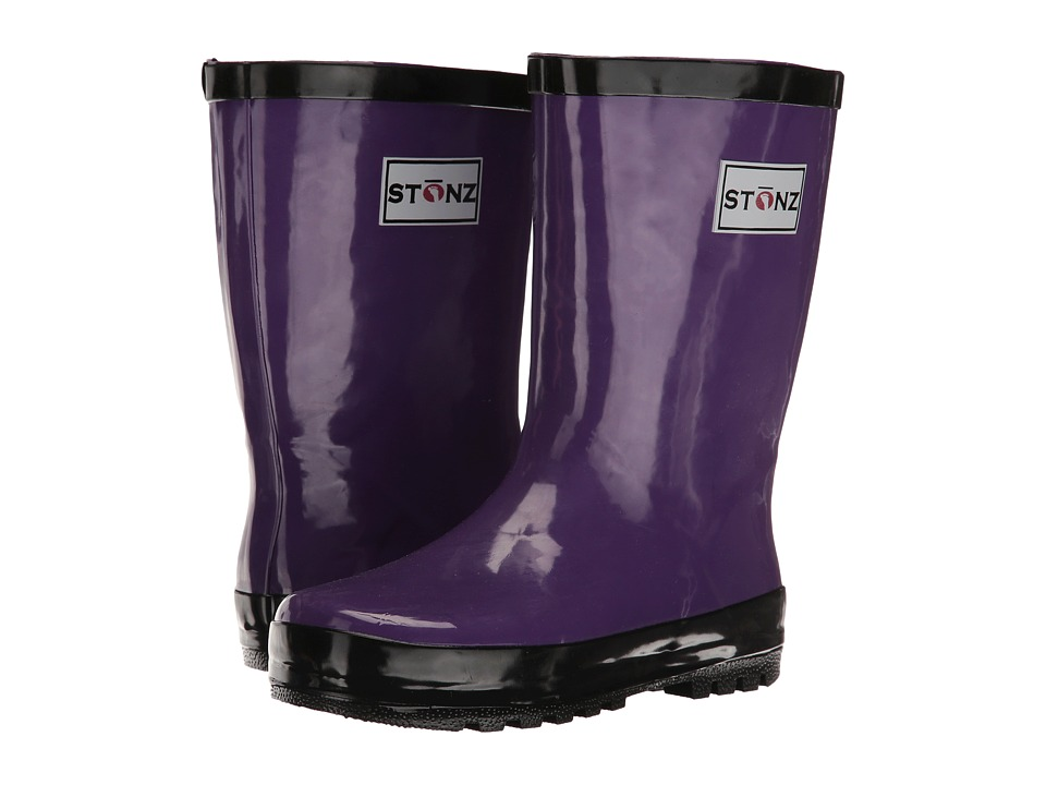 Stonz - Rainboots (Infant/Little Kid/Big Kid) (Purple/Black) Girls Shoes