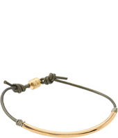 Dogeared - Balance Tube Leather Bracelet