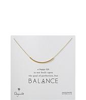 Balance Tube Necklace  Gold