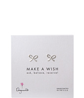 Dogeared - Make A Wish Bow Earring