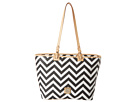 Dooney & Bourke Chevron Leisure Shopper
