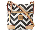 Dooney & Bourke Chevron Letter Carrier