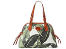Dooney & Bourke Banana Leaves Small Domed Satchel