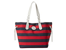 Dooney & Bourke Nylon Stripes Shopper