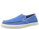 Dockers - Cassel (Electric Blue Washed Canvas) - Footwear
