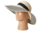 LAUREN Ralph Lauren - Bright Natural Sun Hat (Natural/Black)