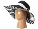 LAUREN Ralph Lauren - Bright Natural Sun Hat (Black/White)