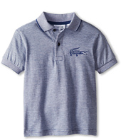 Lacoste Kids - Boys' Short Sleeve Jacquard Croc Jersey Polo (Little Kids/Big Kids)