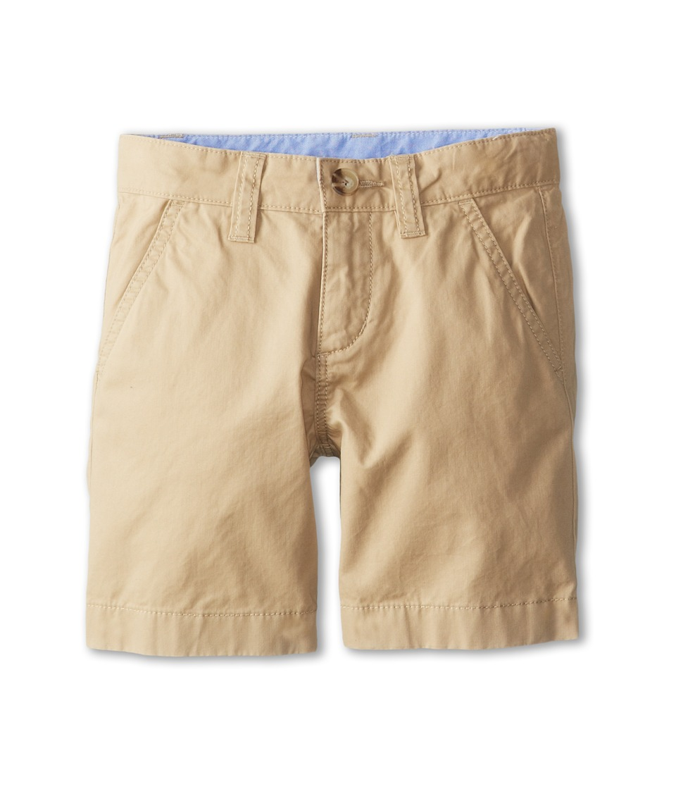 Lacoste Kids Cotton Gabardine Bermuda Short Little Kids/Big Kids Light Coffee Macaroon Boys Shorts