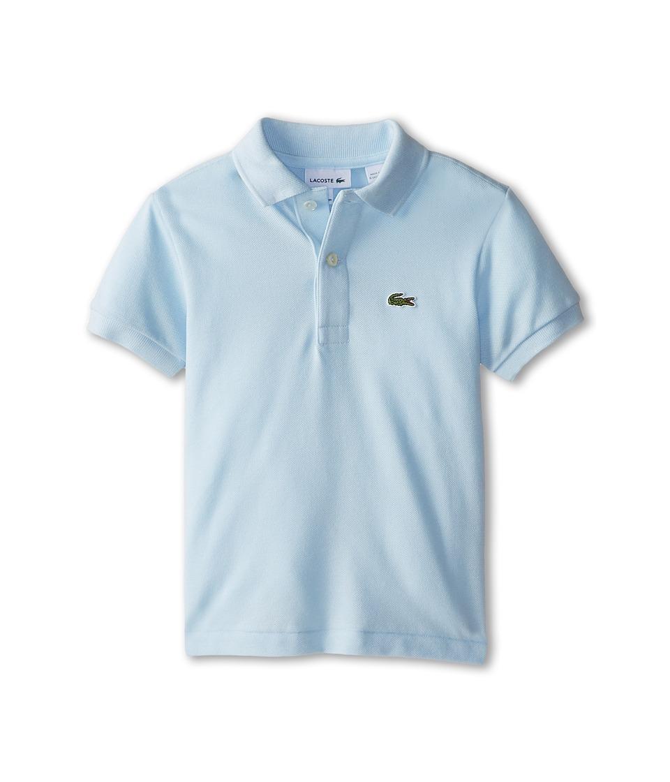 Lacoste Kids - Short Sleeve Classic Pique Polo Shirt (Toddler/Little Kids/Big Kids) (Rill) Boy