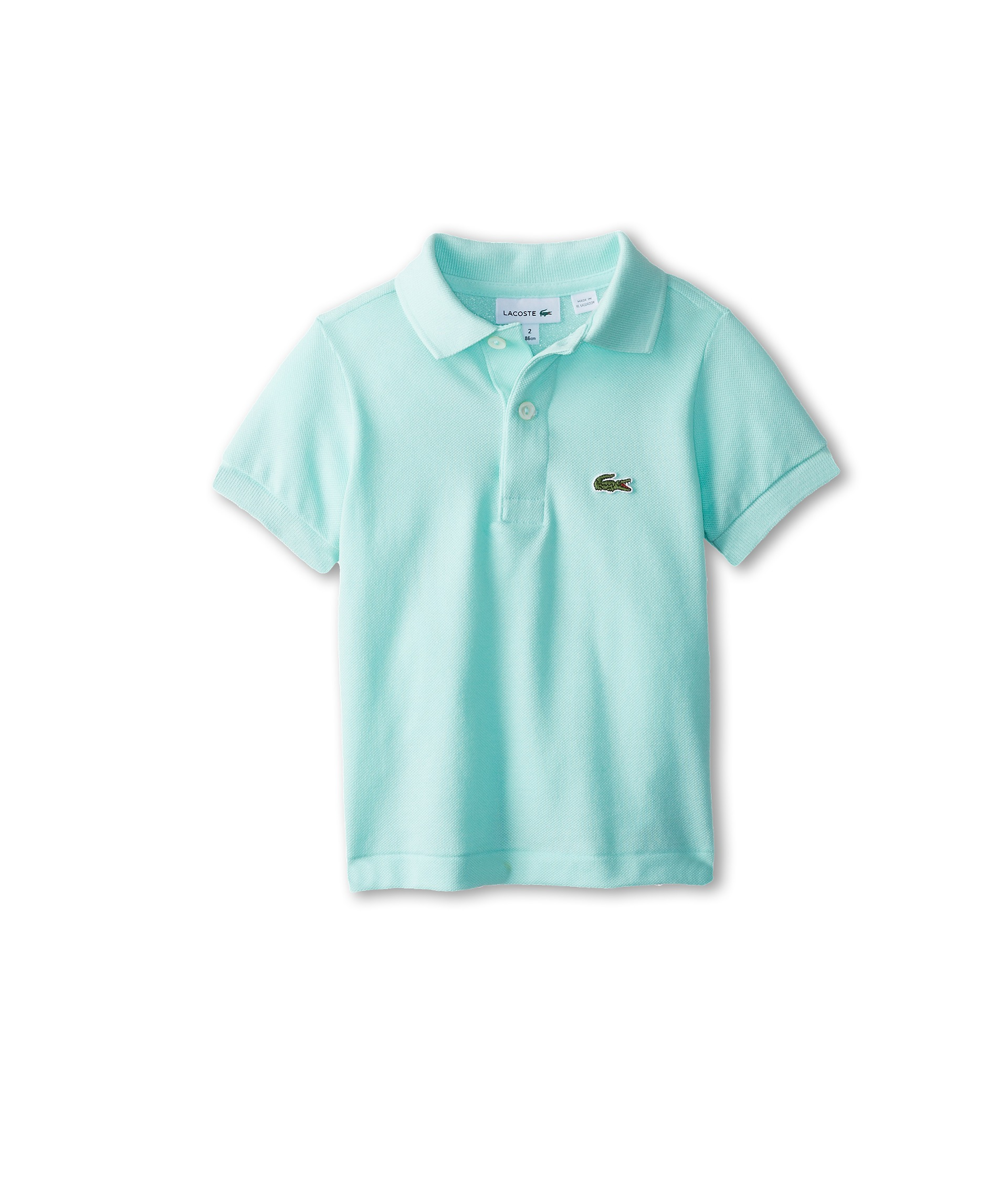 Lacoste kids boys short sleeve classic pique polo shirt for Toddler boys polo shirts