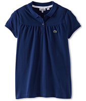 Lacoste Kids - Girls' S/S Classic Pique Polo (Toddler/Little Kids/Big Kids)