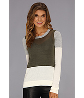 BCBGeneration - Sheer Block Sweater