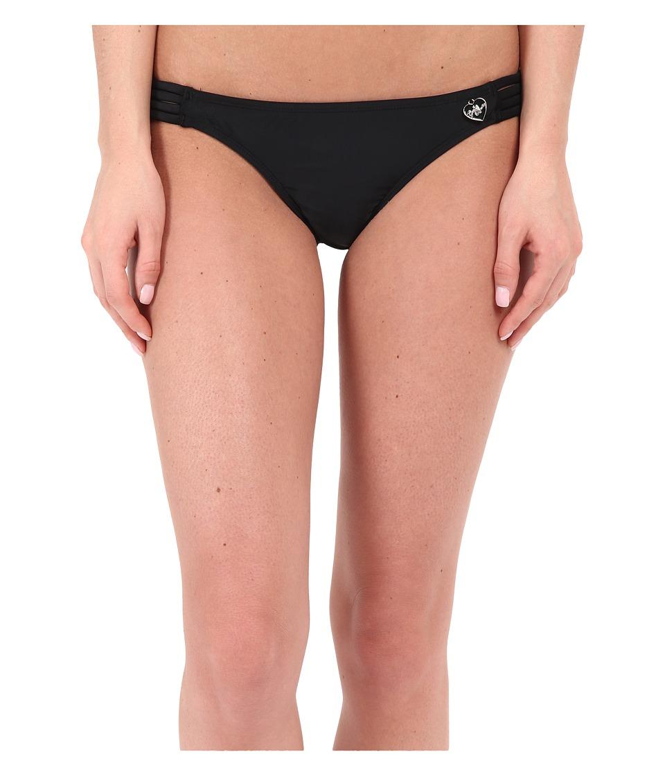 Body Glove Smoothies Flirty Surf Rider Bottom (Black) Women