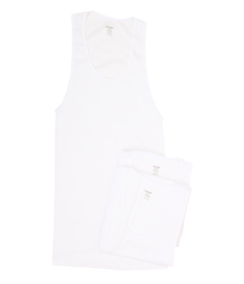 2(X)IST 3-Pack Essential Athletic Tank Top - White