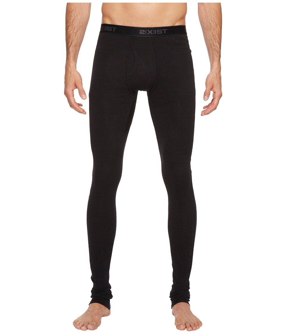 2(X)IST Essentials Long Underwear (Black) Men