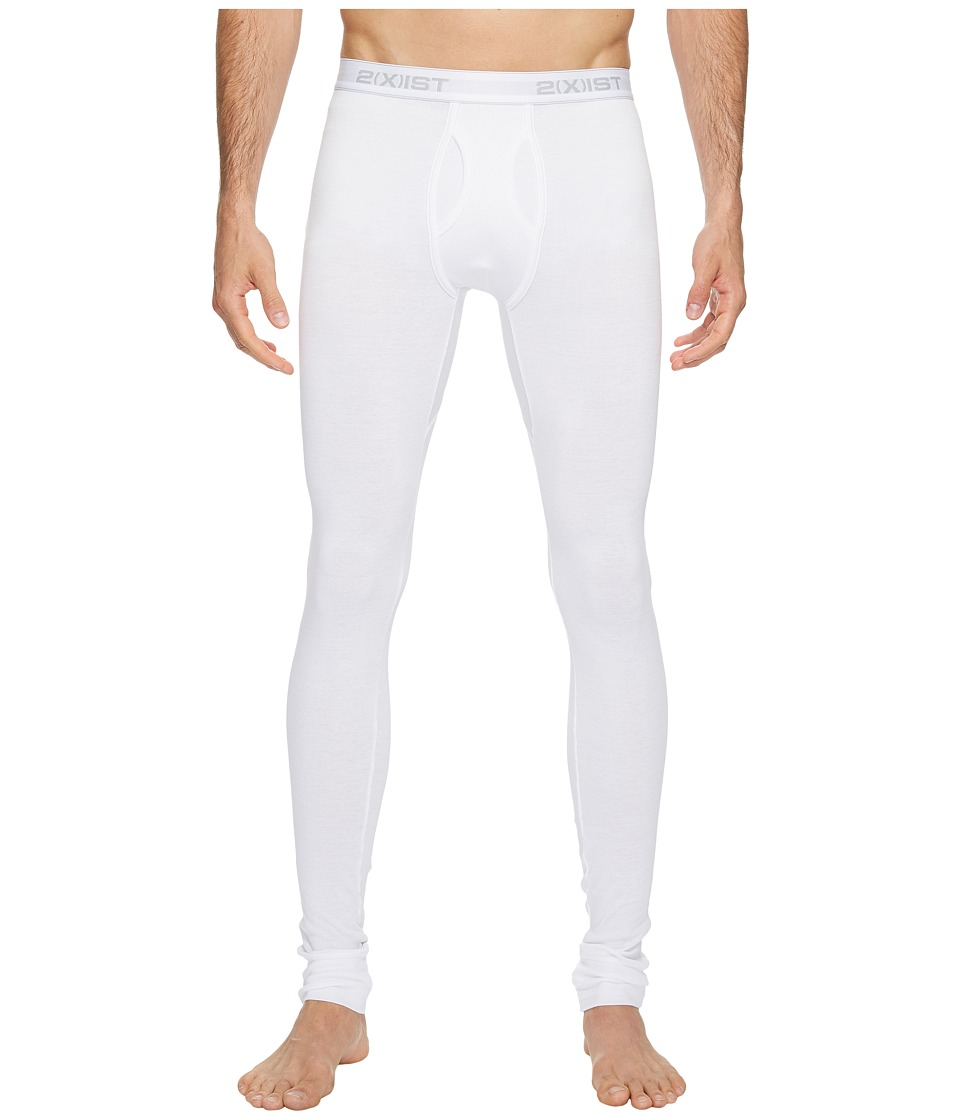 2(X)IST Essentials Long Underwear (White) Men