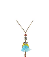 Betsey Johnson - Hanging Skeleton Sailor Necklace