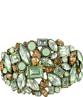 Betsey Johnson - Multi Stone HNG Bangle Bracelet
