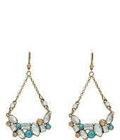 Betsey Johnson - Hanging U STN Cluster Earring