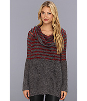 Free People - Engineered Stripe Cowl Pullover