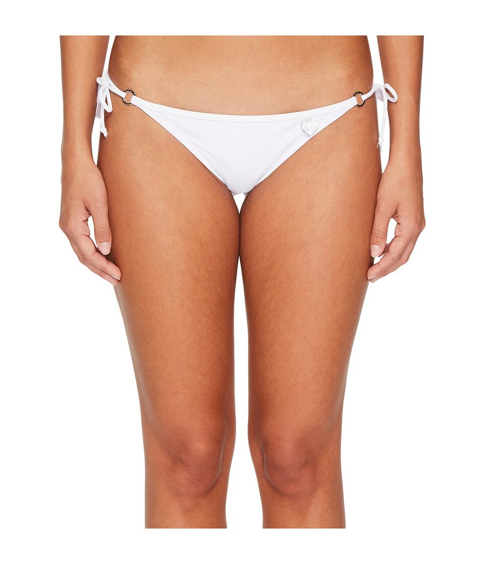 Body Glove - Smoothies Brasilia Tie Side Bottom (White) Womens Swimwear