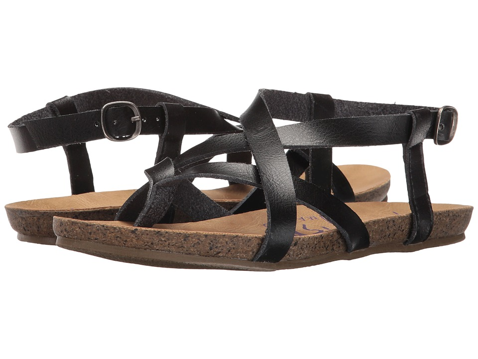Blowfish Granola (Black Dyecut) Sandals