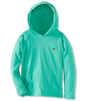Lacoste Kids - Boys' L/S Jersey Hoodie Tee (Toddler/Little Kids/Big Kids)