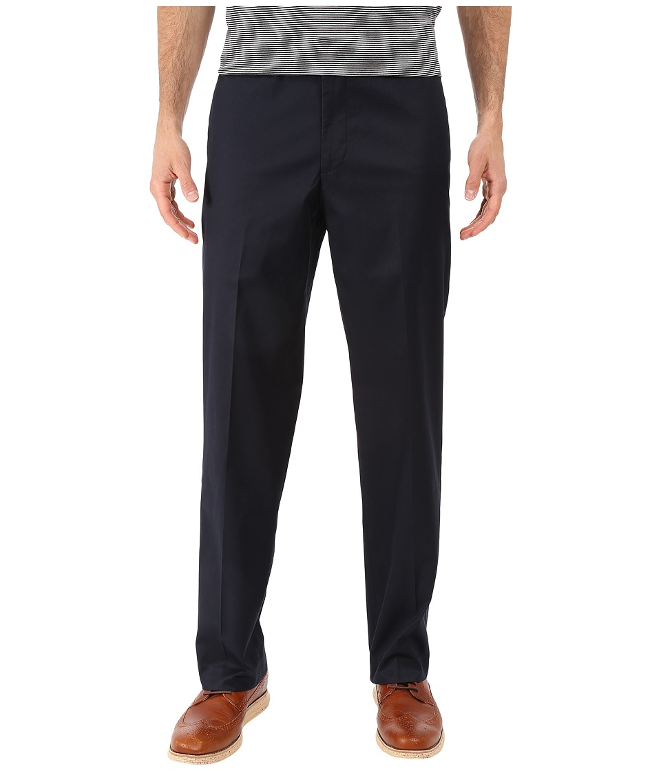 Dockers - Iron Free Khaki D2 Straight Fit Flat Front (Dockers Navy) Mens Casual Pants