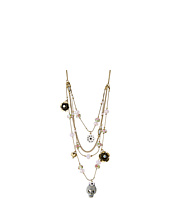 Betsey Johnson - Multi Row Illusion Necklace