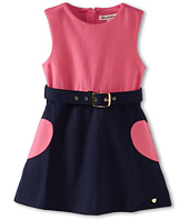 Juicy Couture Kids - Belted Ponte Dress (Toddler/Little Kids/Big Kids)