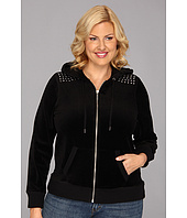 MICHAEL Michael Kors - Plus Size Stud Shoulder Hoodie