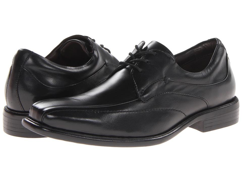 Johnston & Murphy Tilden Lace-Up (Black Smooth Calfskin) Men