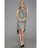 BCBGeneration - Quilted Shoulder Wrap Dress