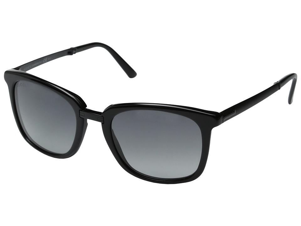 Gucci GG 1050/S Black/Grey Gradient Fashion Sunglasses