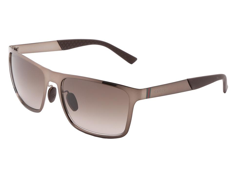 Gucci GG 2238/S Brown/Brown Gradient Fashion Sunglasses