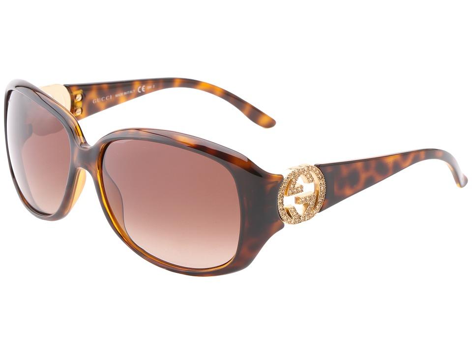 Gucci GG 3578/S Havana/Brown Gradient Fashion Sunglasses