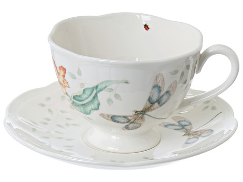 Sale alerts for Lenox Butterfly Meadow Dragonfly Cup & Saucer - Covvet