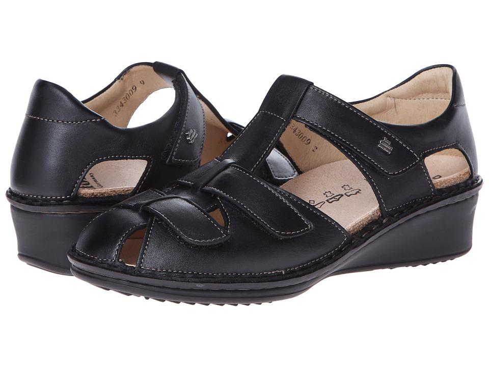 Finn Comfort F nen (Black Nappa Leather) Women