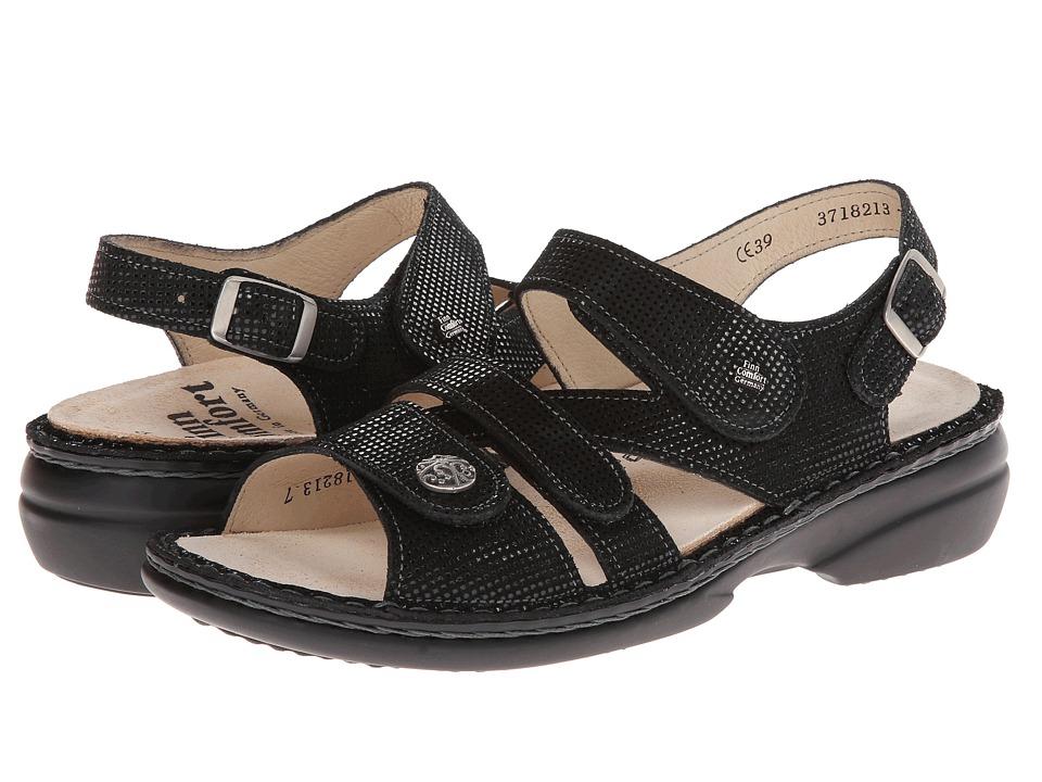 Finn Comfort Gomera 82562 (Black Points) Sandals