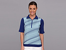 Nike Golf Stripe Mock Polo