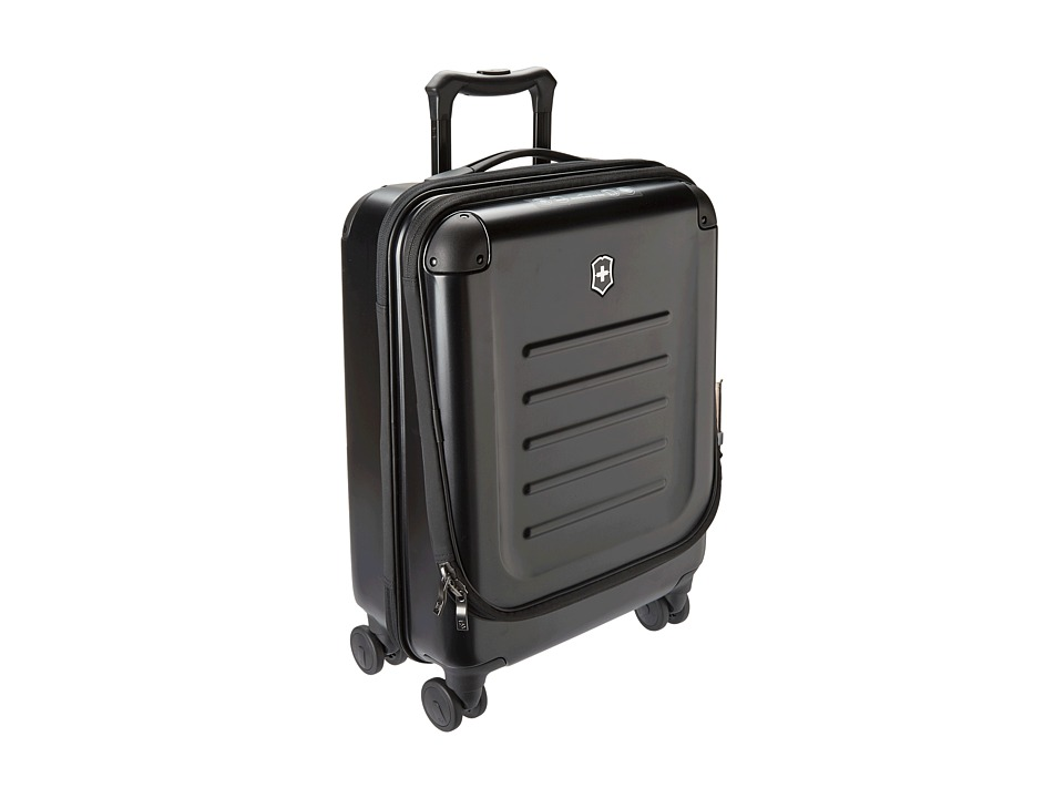 Victorinox - Spectra Dual-Access Global Carry On (Black) Carry on Luggage