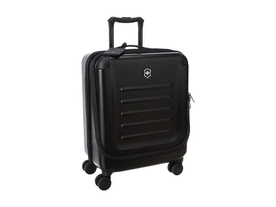 Victorinox - Spectra Dual-Access Extra Capacity Carry On (Black) Carry on Luggage