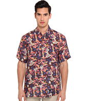 Marc Jacobs - Short Sleeve Tropical Floral Button Up