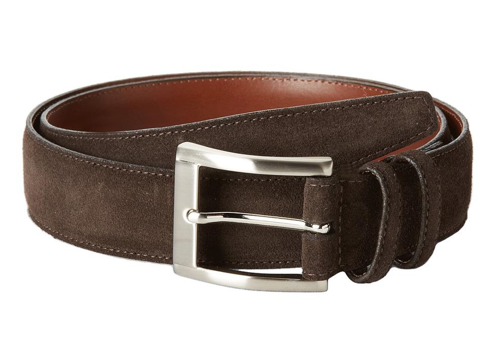 Torino Leather Co. - 35MM Italian Calf Suede (Brown) Men'...