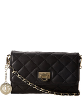 DKNY - Gansevoort - Quilted Nappa Small Flap Crossbody