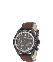 Timex - Intelligent Quartz Aviator Fly-Back Chronograph Leather Strap Watch